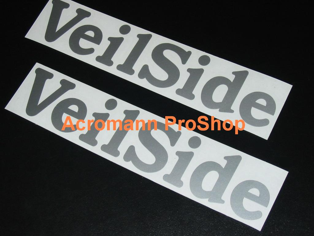 Veilside 6inch Decal x 2 pcs